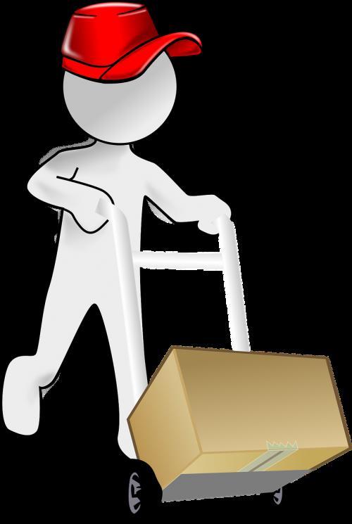 dangtelis,animacinis filmas,apranga,komiksai,kurjerį,dėžė,pristatymas,vyras,Messenger,paketas,žmonės,asmuo,pranešimas,pašto paslaugos,raudona,nemokama vektorinė grafika
