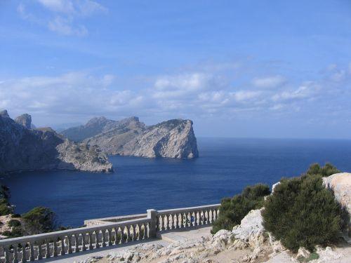 dangtelis formentor,Maljorka,Balearų salos
