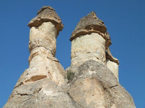 cappadocia,Gorema,Rokas,akmeniniai bokštai,erozija,Turkija