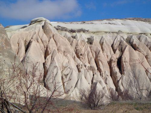 cappadocia,Turkija,tufa,uolienos formacijos,kraštovaizdis,gamta,uolos,tufos formacijos,erozija