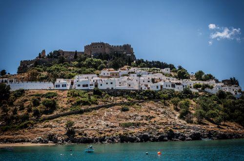 kapitono namai,lindos,Rhodes,jūra,papludimys,Graikija,gražus oras,vasara,akropolis,dangus,užsakytas,šventė,boot,labiausiai paplūdimio,senovės laikai,gamta,mėlynas,vandenys,debesys,mėlynas vanduo,paplūdimio jūra,gražūs paplūdimiai,kraštovaizdis,istorija,gražus