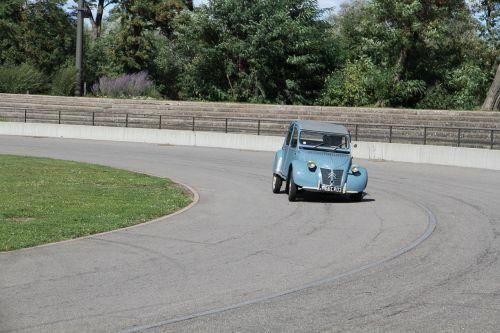 citroën,automobilis,automatinis,klasikinis,retro,automatinis,lenktynės,mėlynas,mažas,tor