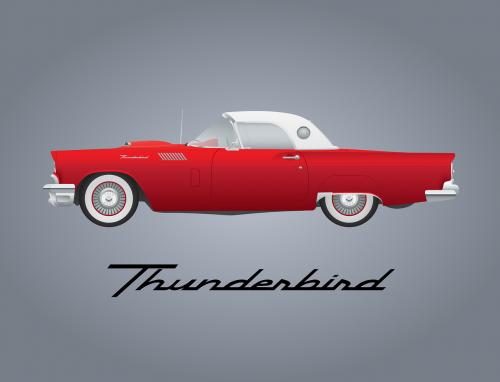 automobilis,vintage,automobilis,raudona,ford,griaustinis paukštis,klasikinis,kabrioletas,atviras turis,transporto priemonė,nemokama vektorinė grafika