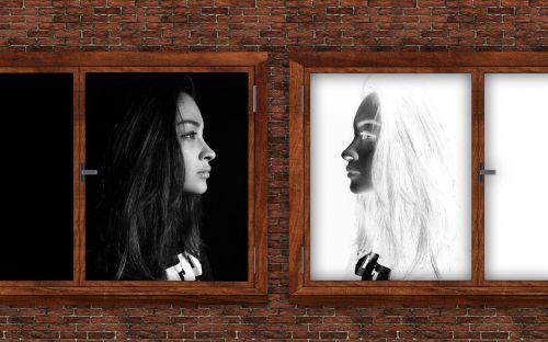 automobilio komunikacija,kalbėti,savarankiškai kalbėti,vidinis dialogas,komunikacija,veidai,moteris,kontaktas,dialogas,langas,palyginus su,veidrodis,veidrodinis vaizdas,psichologija,balsas,interjeras,procesas,vidinis bendravimas,i,vienetas