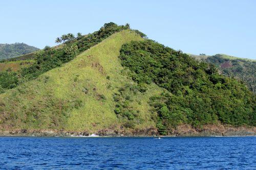kalnas, žalias kalnas, debesys, gamta, miškas, medžiai, lapai, žalias, aukštas & nbsp, kalnas, didelis & nbsp, kalnas, karamanų kalnas