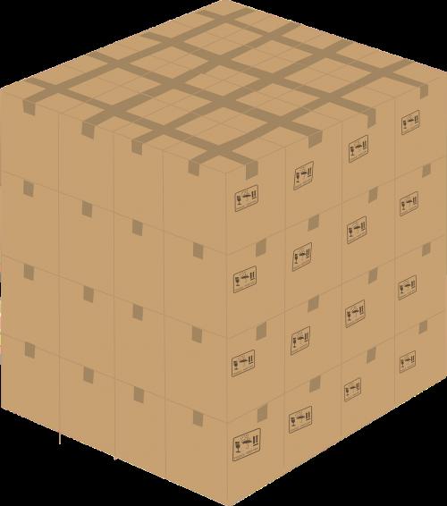Kartoninė dėžutė,kartonas,dėžė,juda,pakavimas,pakavimas,kubas,nemokama vektorinė grafika