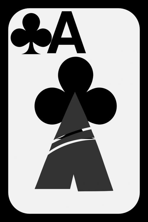 kortelės,ace,klubai,azartiniai lošimai,sėkmė,laimėti,Blackjack,pokeris,bet,žaisti,žaidimas,tikimybė,denio,pramogos,simbolis,laimingas,turtas,sėkmė,nugalėtojas,praplaukite,vegas,varzybos,nemokama vektorinė grafika