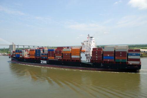 laivai, valtys, laivyba, upė, vanduo, kraštovaizdis, savana, Gruzija, uostas, krovininiai laivai, kroviniai, laivai, jūrinis, industrija, krovininiai laivai