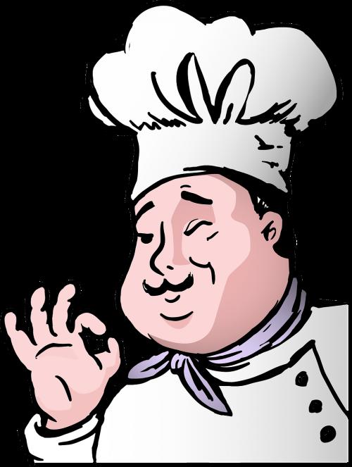 animacinis filmas,virėjas,chubby,komiksas,virėjas,virimo,riebalai,maistas,geras virėjas,gurmanams,skrybėlę,darbas,virtuvė,Patinas,vyras,ūsai,profesija,restoranas,žmonės,nemokama vektorinė grafika