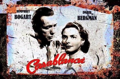 Casablanca, Ingrida Bergman, Humphrey Bogart, Aktorė, aktorius, Vintage, Filmai, filmuota, star, Celebrity, klasikinis, nostalgija, kino, Holivudo, menas, Anotacija, tapyba, Abstraktus menas, išraiškingas, modernus menas, modernus, vaizdo, grafinis, Nemokama iliustracijos