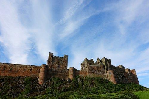 pilis, tvirtovė, įtvirtinimų, Stronghold, fortas, istorinis, stiprus, stiprumas, pasipriešinimas, dangus, nustatyti, perėjimas, įspūdingas, gynyba, gynyba
