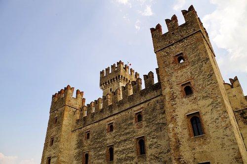 pilis, Rocca, Torre, Viduramžiai, Sirmione