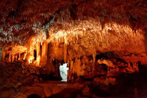 urvas, urvas, Caving, tamsi, geologija, viduje, kalkakmenis, natūralus, gamta, oranžinė, Rokas, speleologija, stalaktitas, stalagmitas, akmuo, po žeme, šlapias, geltona, raudona, urvas barbados