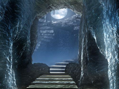 urvai, praėjimas, urvas, tamsi, baisu, akmenys, įėjimas, Dungeon, urvas fone 1