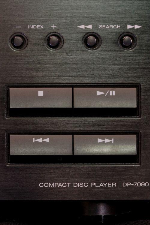 CD grotuvas, muzikos sistema, garsas, muzika, hifi, kenwood, išmesti, išmetimas, mygtukas, klaviatūra, ritė