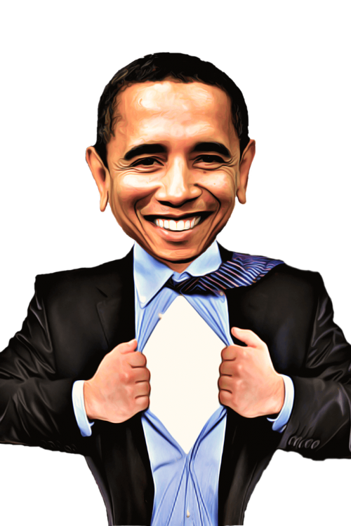 garsenybė,karikatūra,Obama