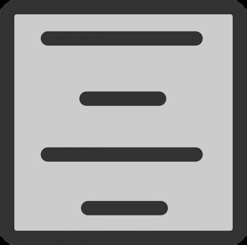 centras,tekstas,susitarti,formatas,linijos,kvadratas,dėžė,pilka,juoda,nemokama vektorinė grafika
