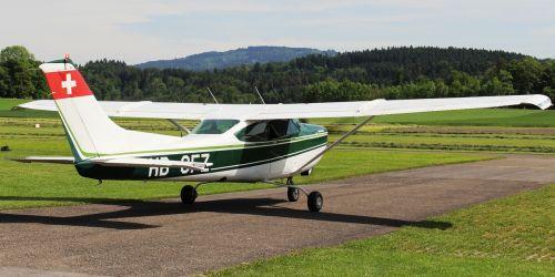 Cessna, Orlaivis, Sportinis Orlaivis, Takas, Oro Uostas, Nuotaika, Sitterdorf, Thurgau, Šveicarija