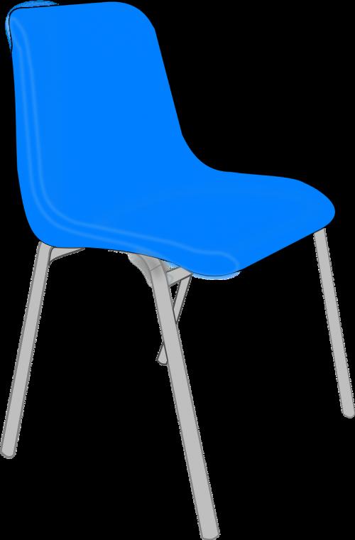 kėdė,plastmasinis,mėlynas,metalas,nepatogus,biuras,laukiamasis,nemokama vektorinė grafika