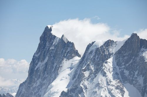 Chamonix,vėjas nulenkiamas,smailės,kalnai,vėjas,kraštovaizdis,Alpės