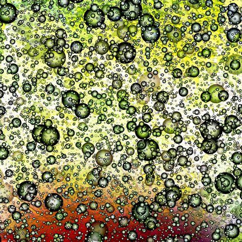 Scrapbooking, fonas, popierius, modeliai, abstraktus, žalias, geltona, oranžinė, chaosas, chaosas (13)