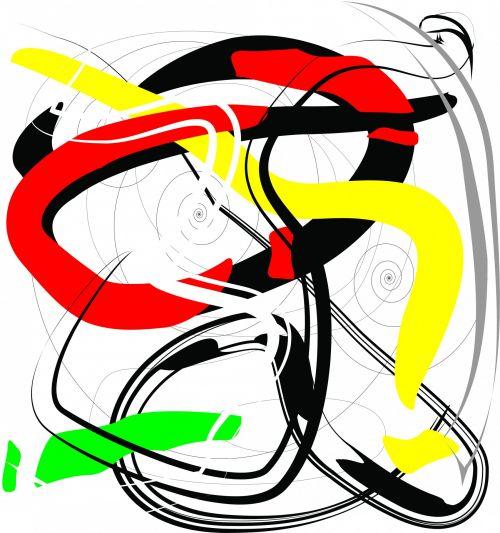 chaosas, chaotiškas, tekstūra, modelis, chaotiškas modelis