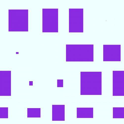 chaosas, chaotiškas, plytelės, violetinė, plytos, chaotiška plytelė