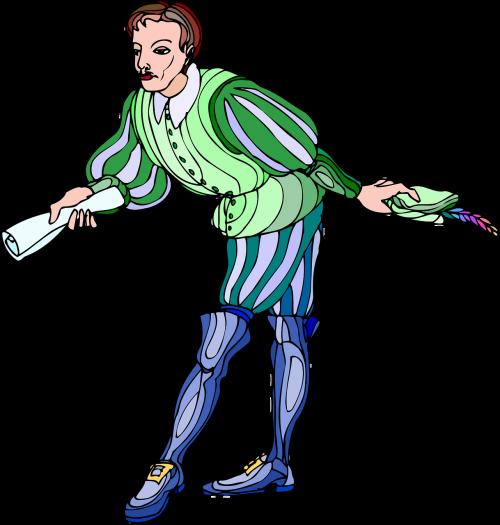 charakteris,konvejeris,kurjerį,dramos,dramaturgas,Messenger,žaisti,dramaturgas,Šekspyras,nemokama vektorinė grafika