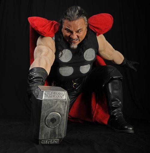 charakteris,Thor,kostiumas,Patinas,spektaklis,pramogos,linksma,juokinga