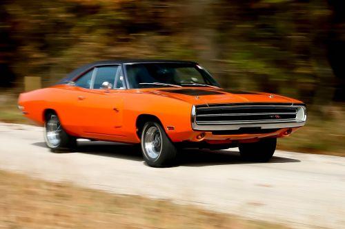 įkroviklis,automobilis,oranžinė,Dodge,kelias,judėjimas