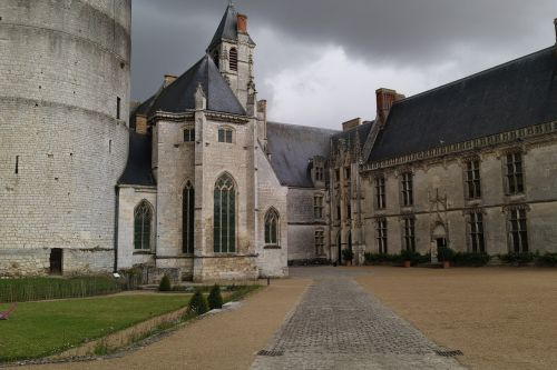 Chateaudun,pilis,sodas,france,renesansas