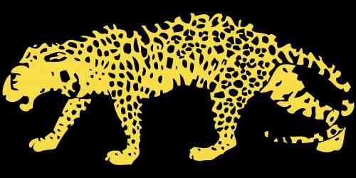 Gepardas,medžioklė-leopardas,leopardas,katė,laukiniai,pavargęs,geltona,dėmės,uodega,vaikščioti,nemokama vektorinė grafika