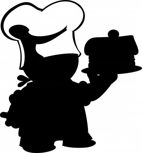 virėjas, izoliuotas, ūsai, balta, skrybėlę, riebalai, gerti, Patinas, prijuostė, restoranas, okupacija, šypsosi, elegantiškas, iliustracija, gyvenimo būdas, dažymas, virėjas, džiaugsmas, linksmas, siluetas, iliustracijos, virimo, maistas, juoda, virėjas restorane