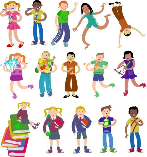 vaikas,vaikai,vaikai,žmonės,gyvenimas,gyvenimo būdas,animacinis filmas,grupė,nustatyti,rinkimas,įvairovė,kaukazo,etninis,įvairūs vaikai,įvairūs vaikai,vaikų grupė