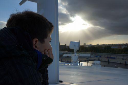 vaikas, vilties spindulys, lūkesčiai, Persiųsti, perspektyva, perspektyva