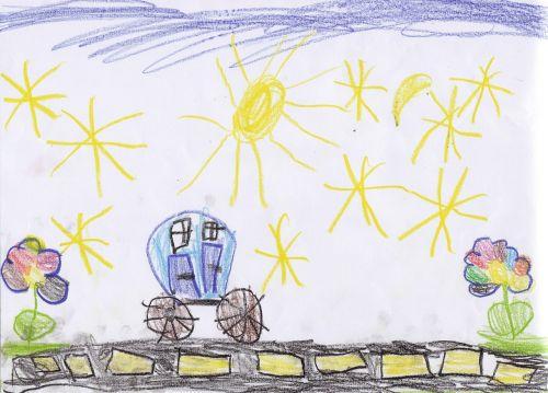 vaikų piešimas,darželis,piešimas,vaizdas,dažytos,kelias,automatinis,gėlės,dažymas