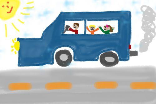 vaikų piešimas,automatinis,kelias,dažyti,piešimas,transporto priemonė