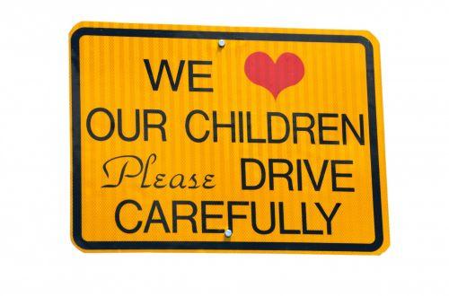 ženklas, vaikai, atsargiai, įspėjimas, saugumas, ženklai, simbolis, iliustracija, kelias, izoliuotas, balta & nbsp, fonas, gatvė, vairuoti & nbsp, atsargiai, Vaikų vairuotojas atsargiai pasirašo