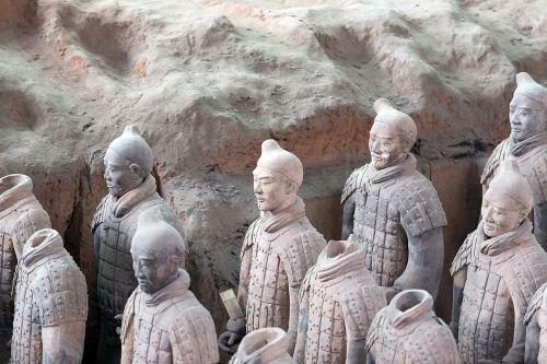 Kinija,terakotos armijos,Xian,lankytinos vietos,žmogus,kareiviai,kapas,kapas,skaičiai,qin mausoleum shihuangdis