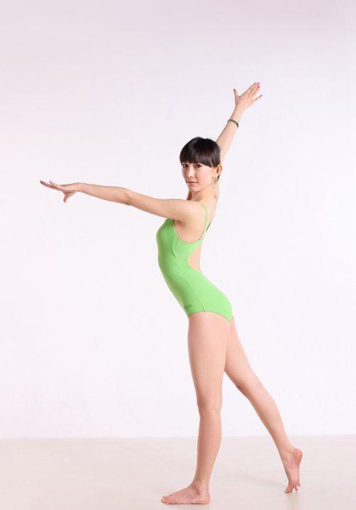 Kinija,Moteris,šokis,joga,laikysena,gražus