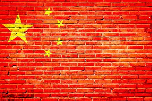Kinija,grafiti,tauta,vėliava,fonas
