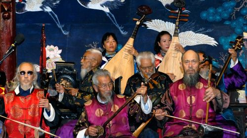Kinija,orkestras,muzika,kinai,naxi orkestras,Lijiang,tradicinė muzika