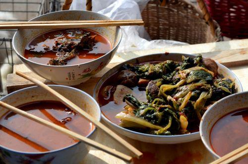maistas, pietūs, kinai, pjaustyti & nbsp, lazdos, dubenys, sriuba, kinų pietūs