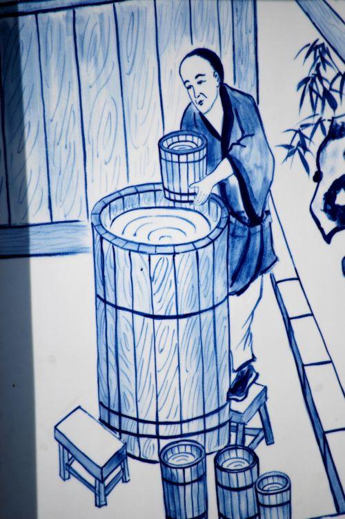 kitas, objektas, menas, kinai, porcelianas, nuotrauka, iliustracija, kultūra, asija, Kinijos porcelianas 4