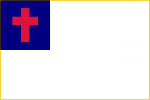krikščionis,krikščionybė,vėliava,organizacija,ženklas,simbolis,nemokama vektorinė grafika