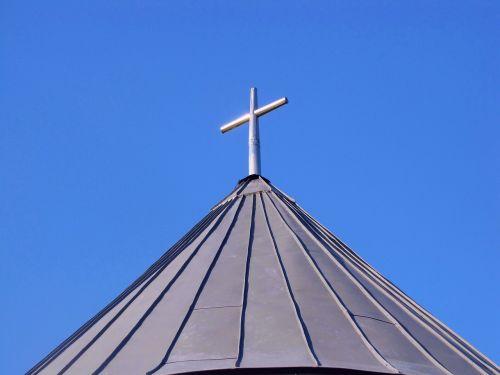 krikščionybė,kirsti,simbolis,koplyčia,bažnyčia,religija,tikėjimas,dangus,dangaus,dangaus mėlynumo