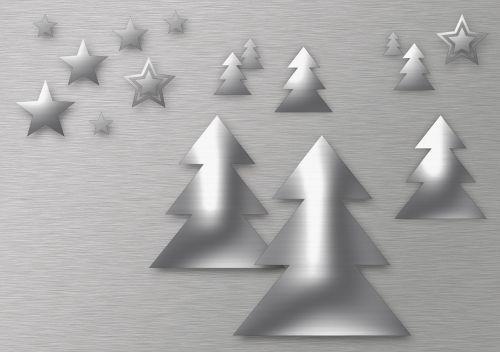 Kalėdos,šiuolaikinė Kalėdų kortelė,metalo efektas,žvaigždė,atvirukas,Adventas