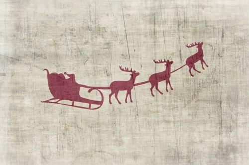 Kalėdos,fonas,Kalėdų motyvas,Kalėdų Senelis,šiaurės elniai,Kalėdų senelis,senamadiškas,senas,Kalėdų laikas