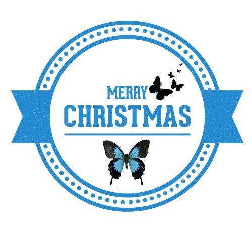 Kalėdos, xmas, ratas, pasveikinimas, drugelis, drugeliai, mėlynas, Kalėdų drugeliai