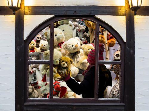 Kalėdinė dovana,Kalėdos,dovanos,meškiukas,iškamša,langas,linkiu jums,džiaugsmas,troškimas,vaikų žaislai,langų rėmai
